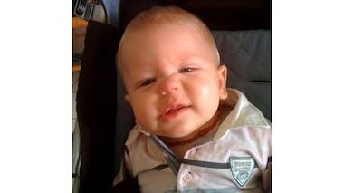 Gabin, 9 mois