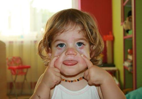 Lysiane, 2 ans