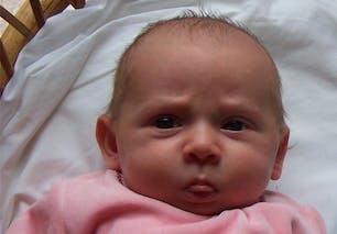 Nora, un mois et demi