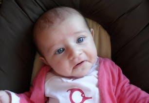Zoé, 4 mois et demi