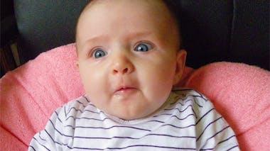 Zoé, 7 mois et demi