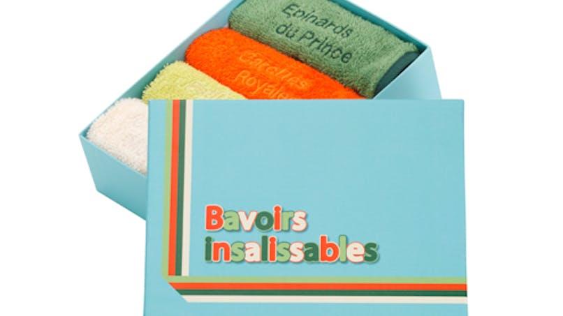 Bavoirs insalissables