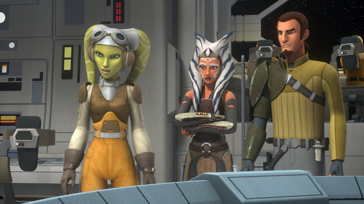 Star Wars Rebels : le siège de Lothal