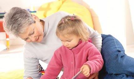 Les grands-parents comme nounou