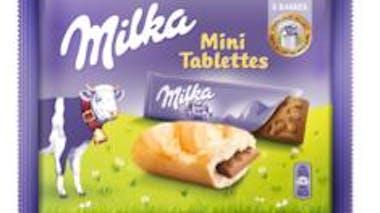 Milka mini tablette