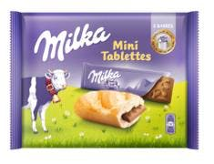 Milka mini tablette