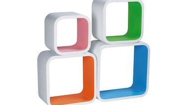 Cubes Coloris, La Chaise Longue