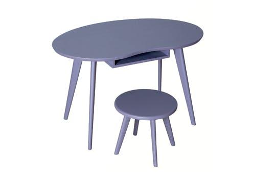 Table et tabouret Haricot, Laurette