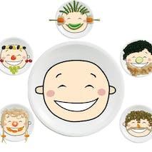 Happy assiettes