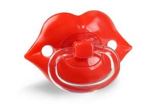 Tétine lèvre pulpeuse