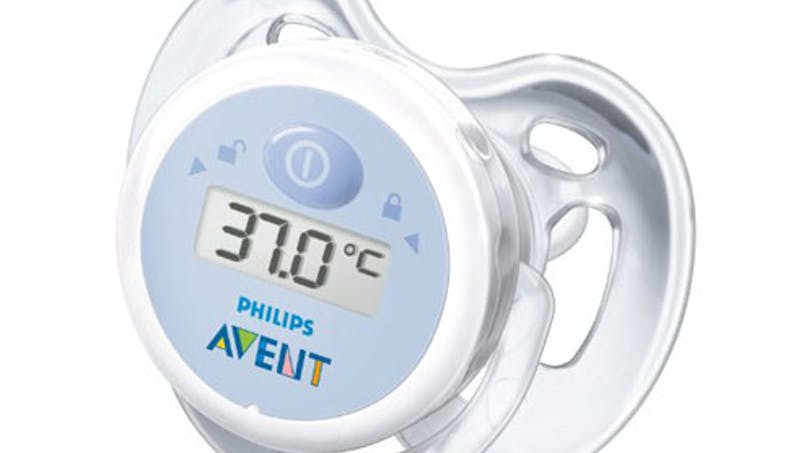 Tétine thermomètre
