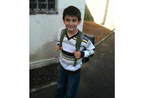 Hugo, 8 ans