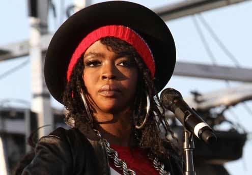 Lauryn Hill : 1 semaine après l'accouchement