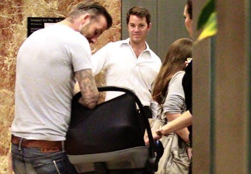 Harper Seven, la fille de Victoria et David       Beckham