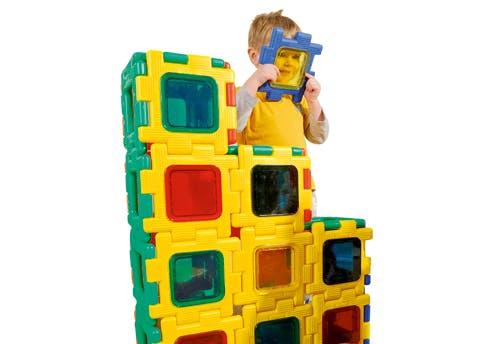 Puzzle géant en 3D