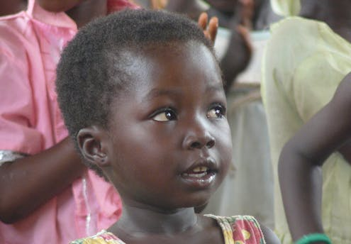 Gisèle, 4 ans
