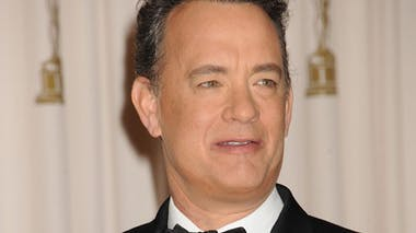 Tom Hanks, papa à 21 ans