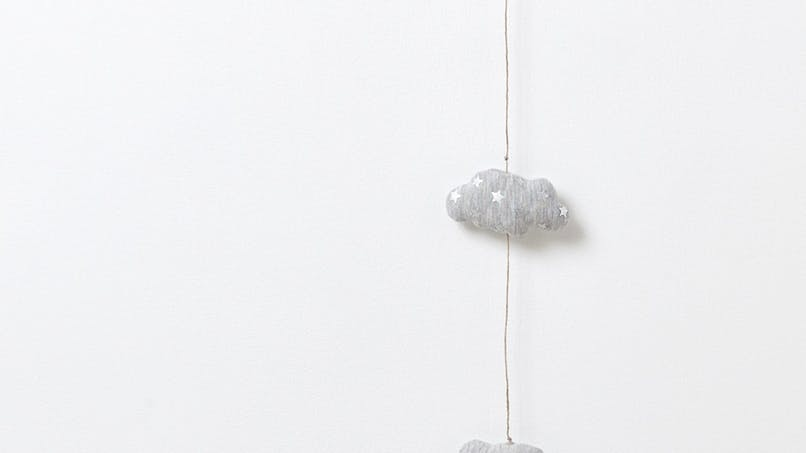 Guirlande nuages