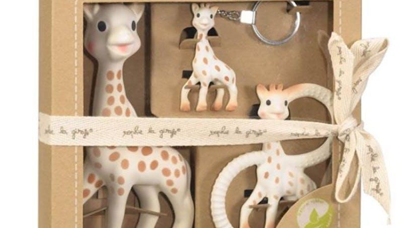 Un coffret Sophie la girafe