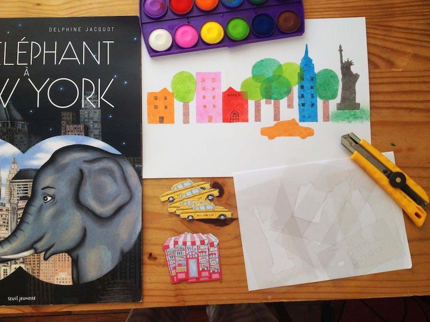 Atelier « Un éléphant à New York »