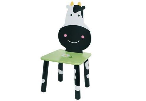 Chaise Vache-Fleur