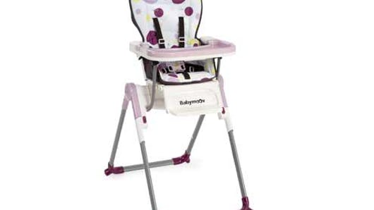 Shopping chaises hautes