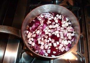 Bouillon rose de bœuf en émincés : étape 5
