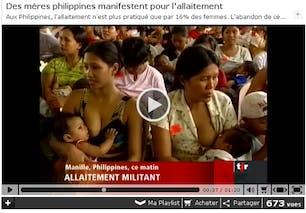 Le plus grand nombre de mamans allaitantes réunies
