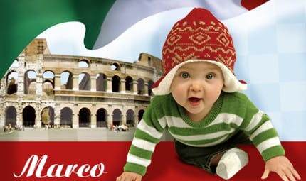 Le top des prénoms italiens pour garçon et fille