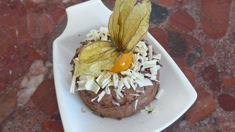 Desserts de fête au chocolat