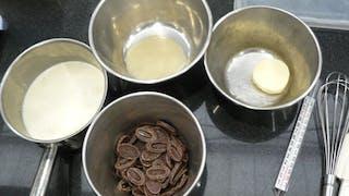 Petites gourmandises au chocolat