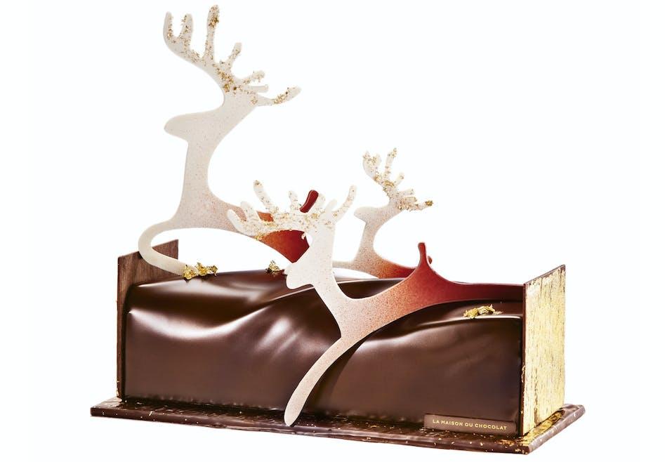 Bûche Conte de Noël