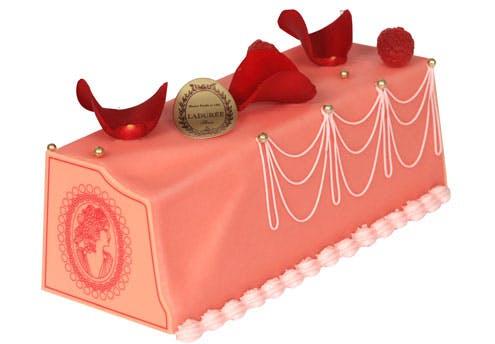 Bûche de Noël Marie-Antoinette