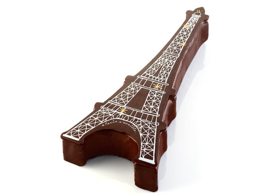Bûche de Noël Paris s'éveille