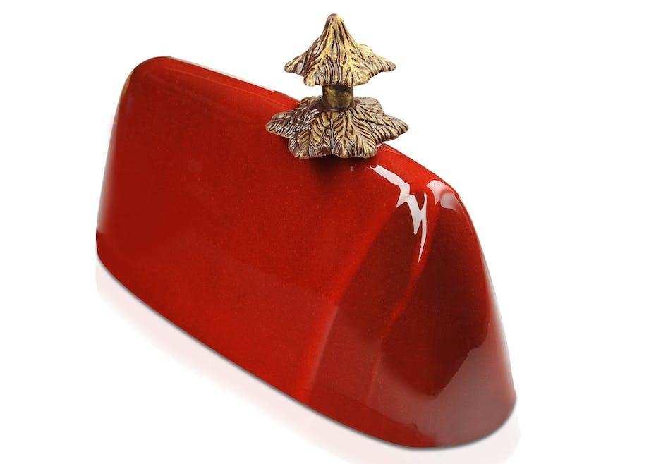 Bûche de Noël Red Forest