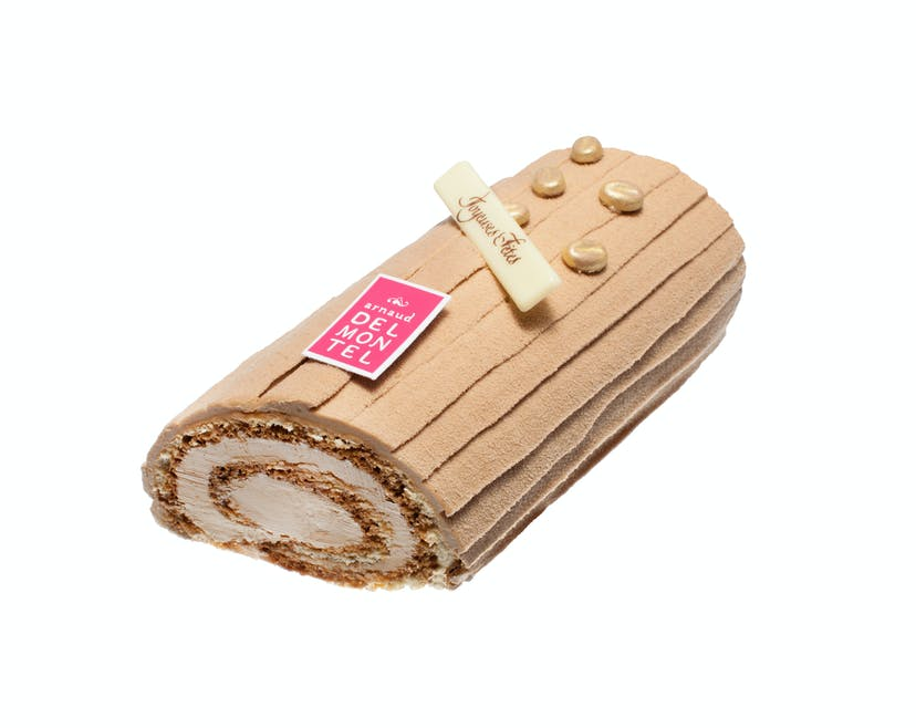 Bûche traditionnelle café