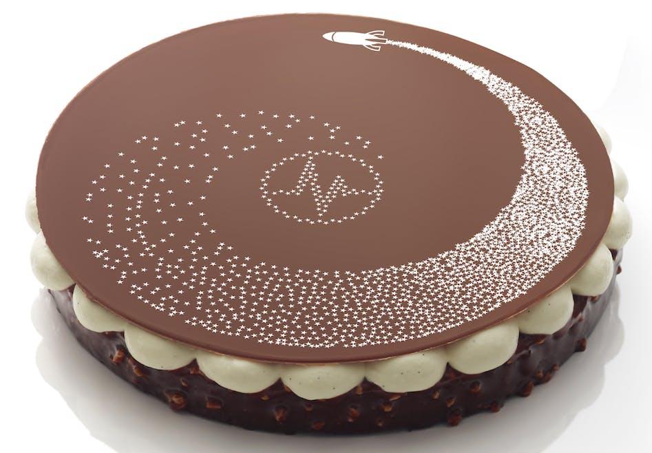 Gâteau de Noël Fantastik Galactik