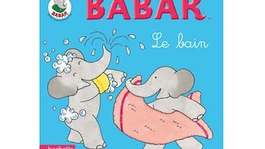 Livre Babar, Le bain