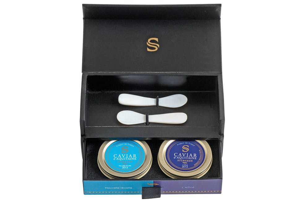 Coffret de caviar