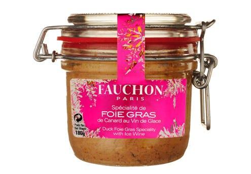 Foie gras au vin de glace