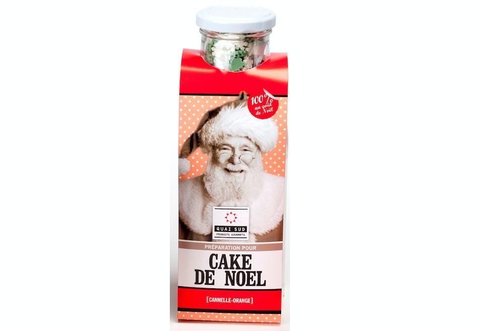 Préparation pour cake de Noël