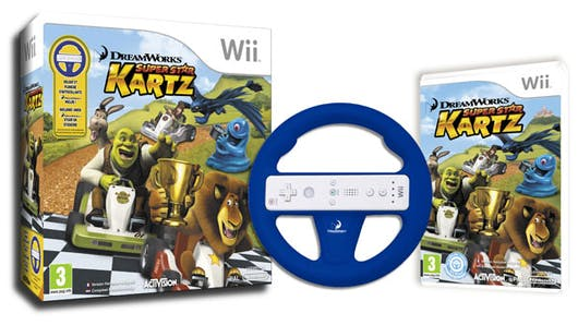 DreamWorks Super Star Kartz sur Wii