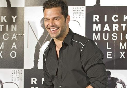 Une mère porteuse pour Ricky Martin