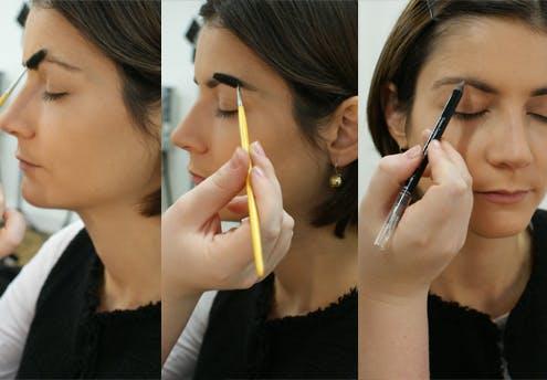 Etape 5 : structurer les sourcils