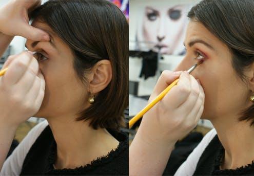 Etape 6 : colorer les yeux