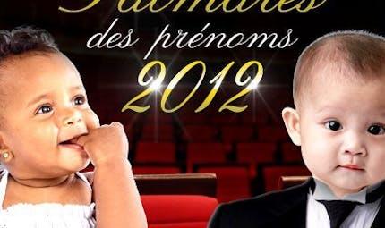 Les prénoms 2012