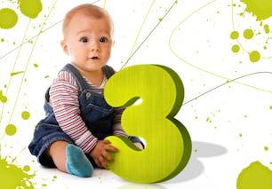Votre enfant a un chemin de vie 3 : Créativité,       curiosité, communication et humour
