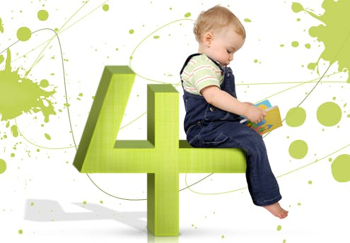 Votre enfant a un chemin de vie 4 : Effort, travail,       construction et discipline