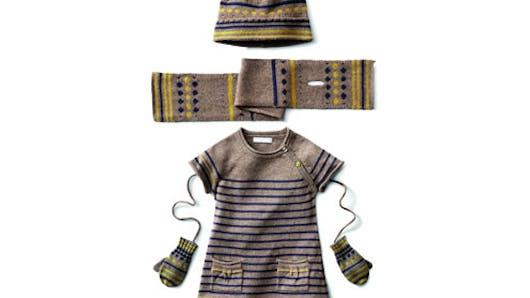 Mode bébé : ses tenues pour l'hiver