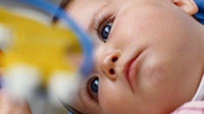 bébé autiste, image